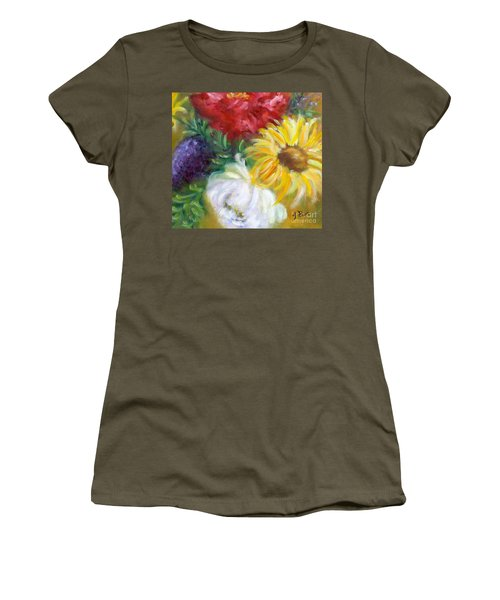 Spring Surprise Women's T-Shirt (Athletic Fit)