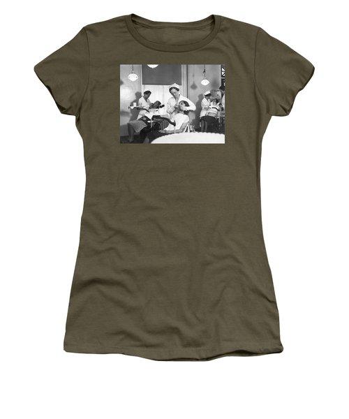 Students At A Dental School Women's T-Shirt