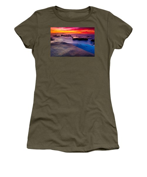 Sunset In La Jolla  Women's T-Shirt