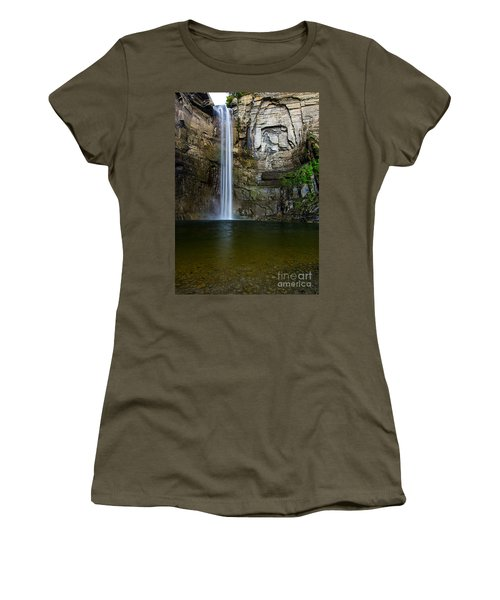 Taughannock Falls Women's T-Shirt (Athletic Fit)