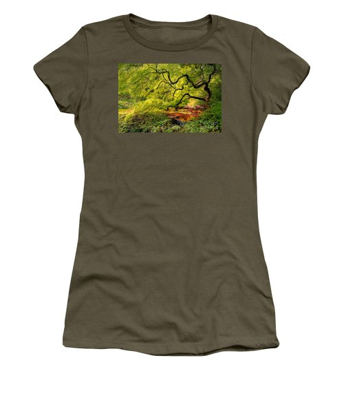Tranquil Shade Women's T-Shirt (Athletic Fit)
