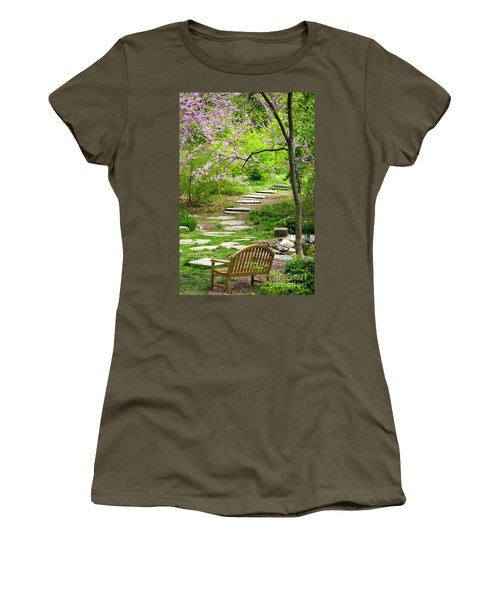 Tranquility Women's T-Shirt (Junior Cut) by Living Color Photography Lorraine Lynch