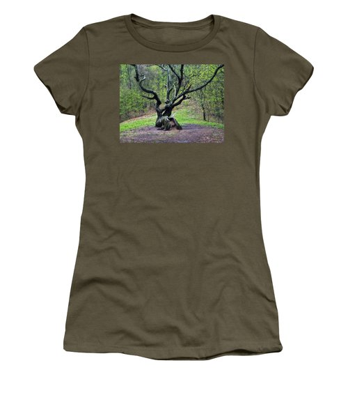 Tree In The Forest Women's T-Shirt (Athletic Fit)