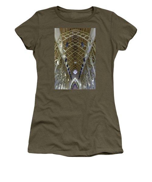 Trussed Arches Of Uf Chapel Women's T-Shirt (Junior Cut) by Lynn Palmer