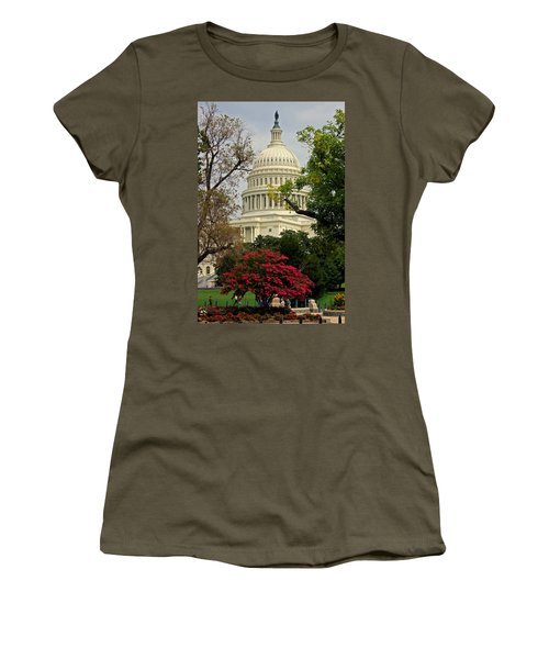 United States Capitol Women's T-Shirt (Athletic Fit)