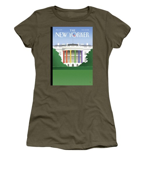 Spectrum Of Light Women's T-Shirt