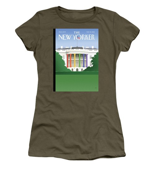 Spectrum Of Light Women's T-Shirt (Athletic Fit)