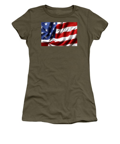 Usa Flag No.52 Women's T-Shirt