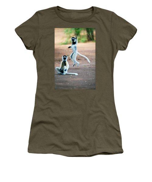 Verreauxs Sifaka Propithecus Verreauxi Women's T-Shirt