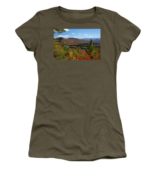 View Of Mckenzie Pond From Mount Baker Women's T-Shirt