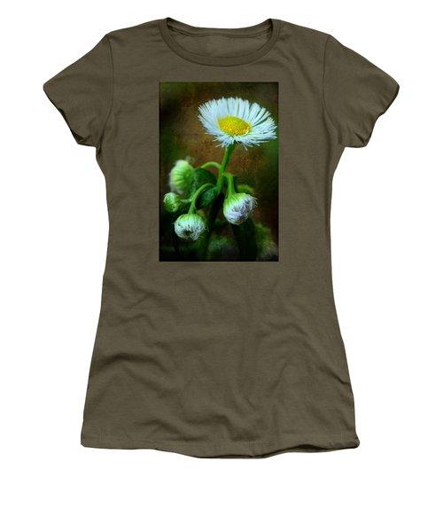We've Only Just Begun Women's T-Shirt (Junior Cut) by Michael Eingle
