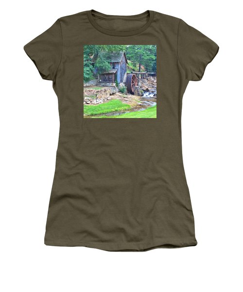 Sixes Mill On Dukes Creek - Square Women's T-Shirt