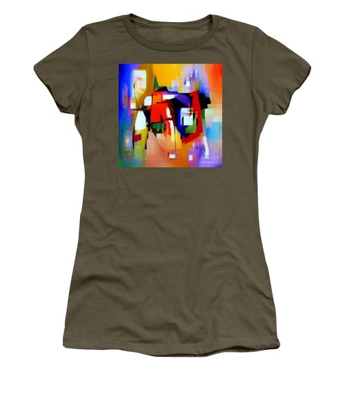 Abstract Series Iv Women's T-Shirt