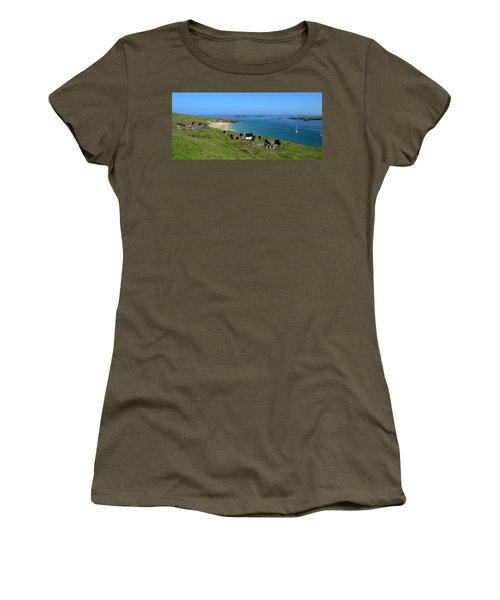 Blasket Islands Women's T-Shirt (Junior Cut) by Barbara Walsh