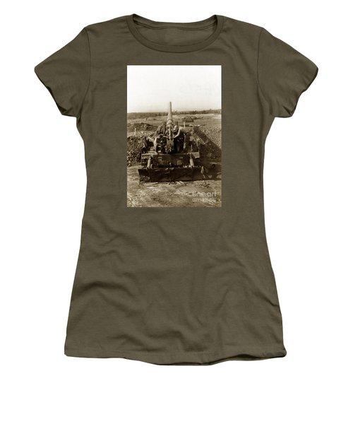 175mm Self Propelled Gun C 10 7-15th Field Artillery Vietnam 1968 Women's T-Shirt (Junior Cut) by California Views Mr Pat Hathaway Archives