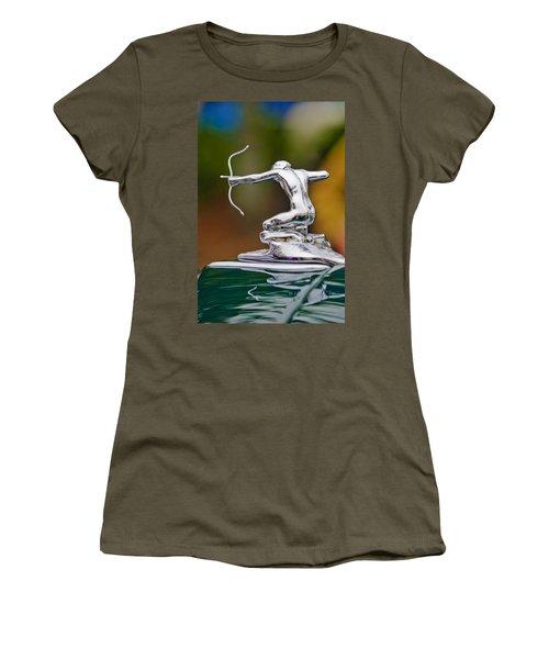 1935 Pierce-arrow 845 Coupe Hood Ornament Women's T-Shirt