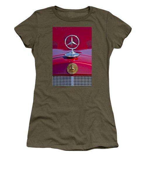 1953 Mercedes Benz Hood Ornament Women's T-Shirt
