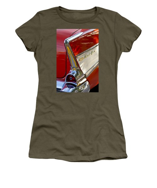 1957 Chevrolet Belair Taillight Women's T-Shirt
