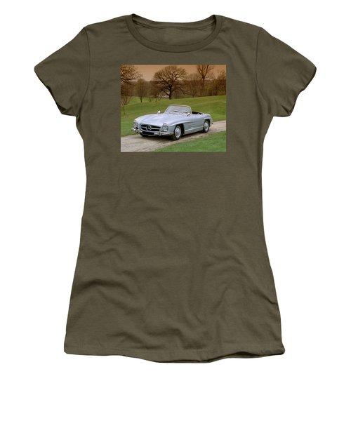 1957 Mercedes Benz 300sl 3.0 Litre Women's T-Shirt