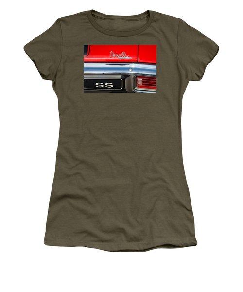 8aca1a43 1970 Chevrolet Chevelle Ss Emblem Women's T-Shirt