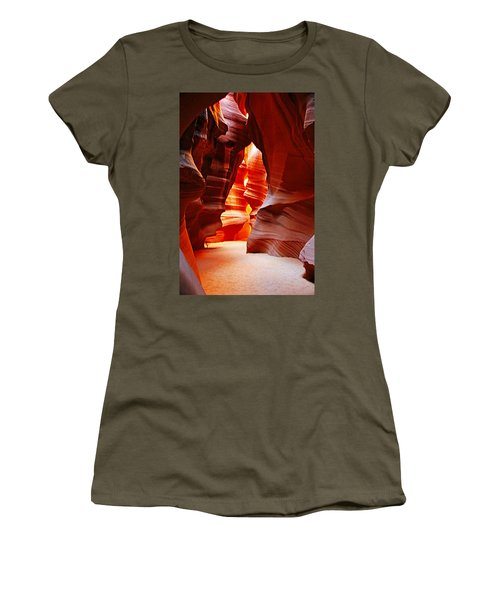 Antelope Canyon  Women's T-Shirt (Athletic Fit)