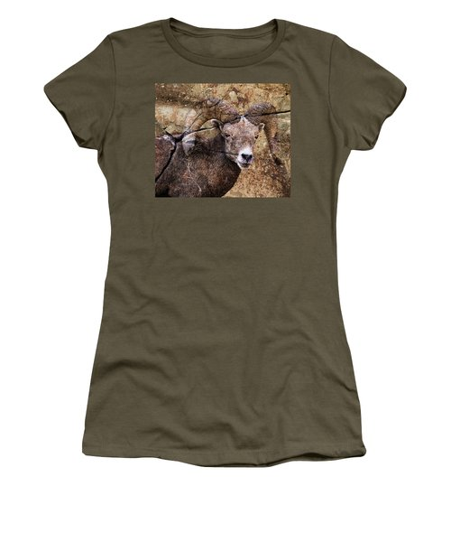 Bighorn Rock Women's T-Shirt (Athletic Fit)