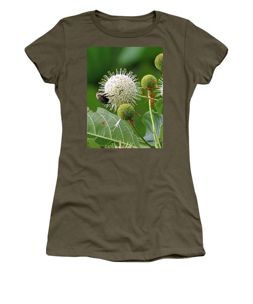 Bumbler Women's T-Shirt (Junior Cut) by Jennifer Wheatley Wolf
