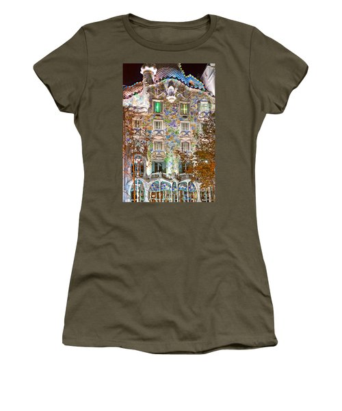 Casa Batllo - Barcelona Women's T-Shirt (Junior Cut) by Luciano Mortula