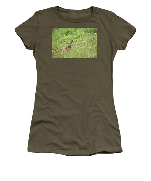 Fawn Women's T-Shirt (Athletic Fit)