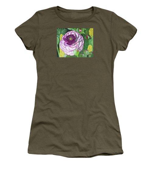 Garnet Punch Women's T-Shirt (Junior Cut) by Donna  Manaraze