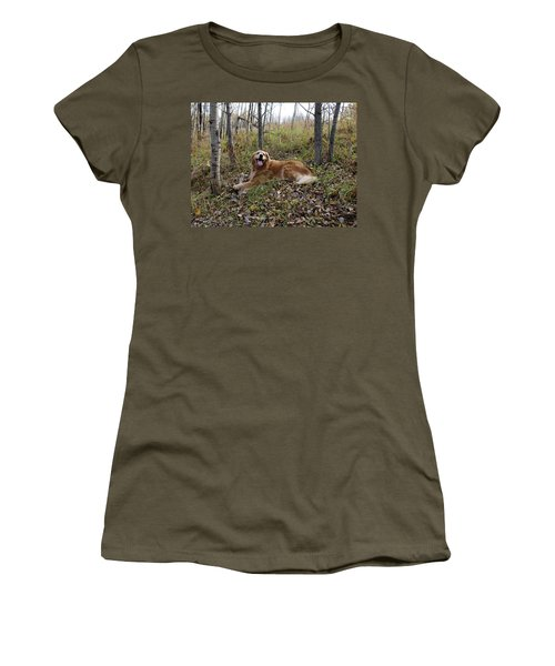 Happiness Is Women's T-Shirt (Junior Cut) by Rhonda McDougall