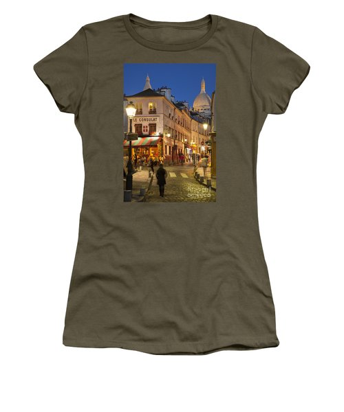 Montmartre Twilight Women's T-Shirt (Athletic Fit)