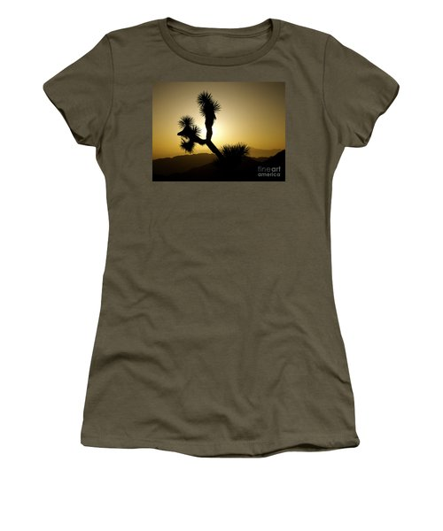 New Photographic Art Print For Sale Joshua Tree At Sunset Women's T-Shirt