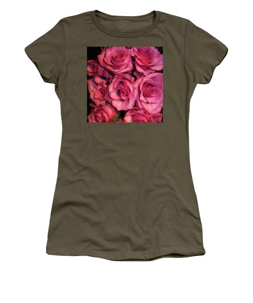 Rosebouquet In Pink Women's T-Shirt