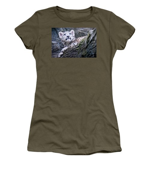 Snow Leopard Cub Women's T-Shirt