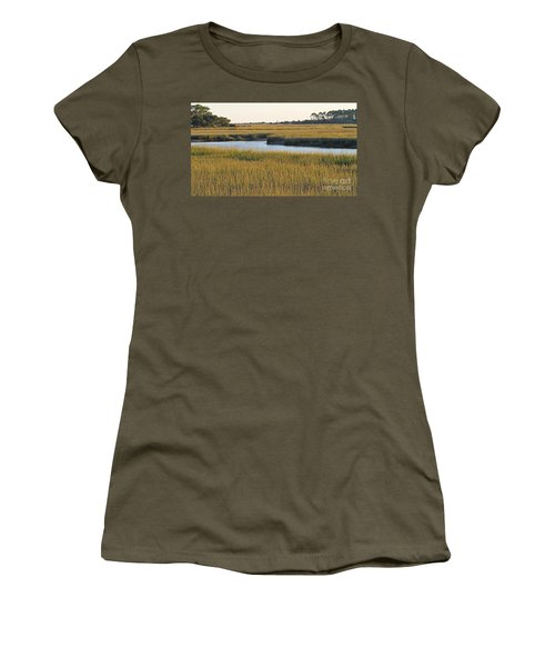South Carolina Salt Marsh Women's T-Shirt (Athletic Fit)