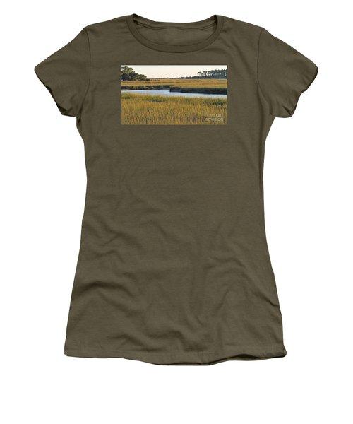 South Carolina Salt Marsh Women's T-Shirt (Junior Cut) by Kevin McCarthy