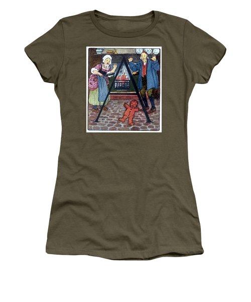 The Gingerbread Boy Women's T-Shirt