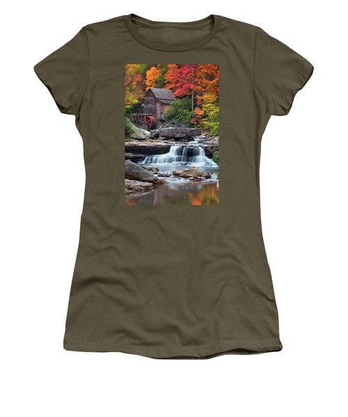 Glade Creek Grist Mill  Women's T-Shirt