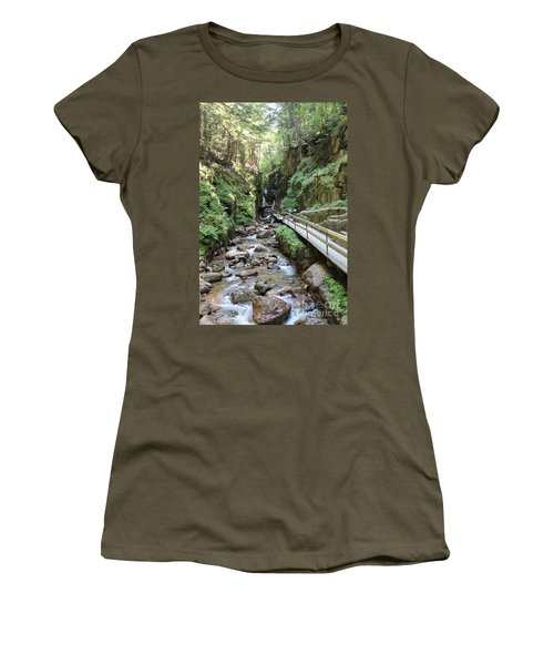 The Flume Gorge   Women's T-Shirt