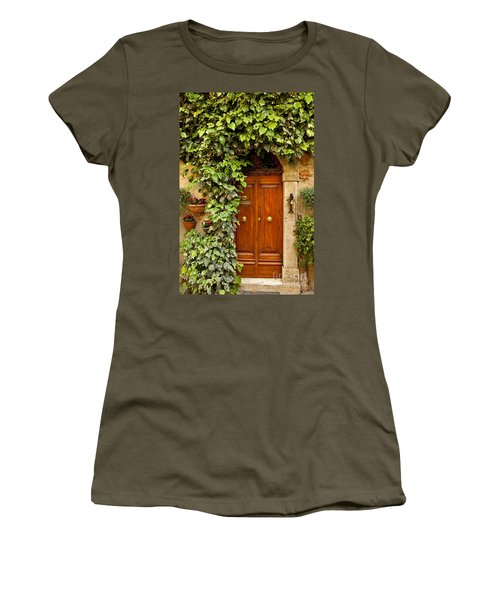 Tuscan Door Women's T-Shirt (Athletic Fit)