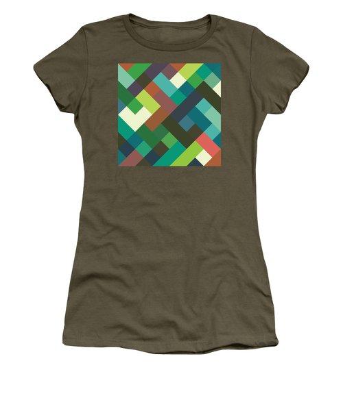 Pixel Art Women's T-Shirt (Athletic Fit)