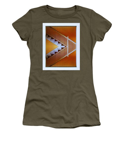 Distorted Stairs Women's T-Shirt