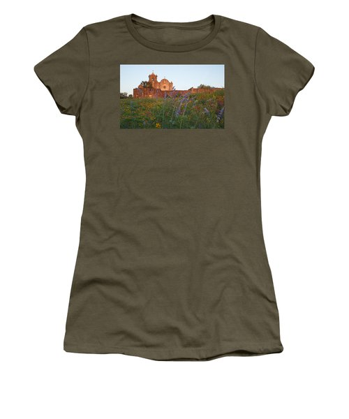 Presidio La Bahia 2 Women's T-Shirt (Junior Cut) by Susan Rovira
