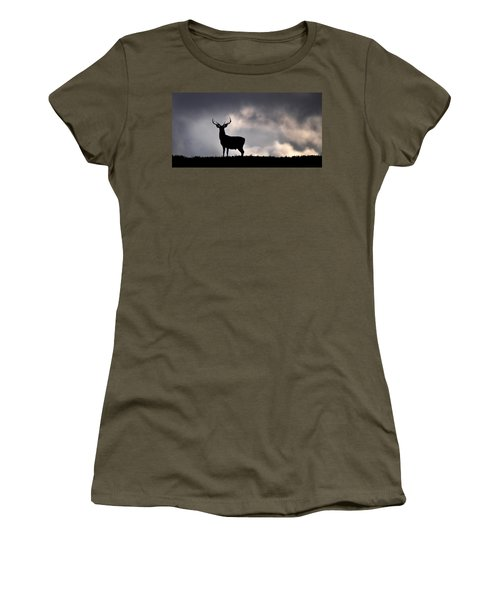 Stag Silhouette Women's T-Shirt