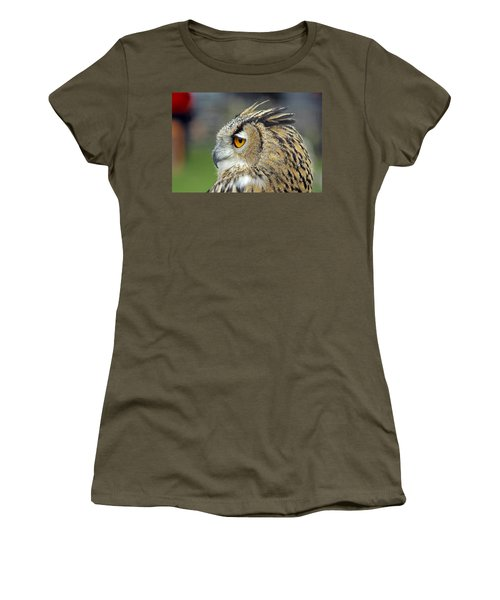 European Eagle Owl Women's T-Shirt