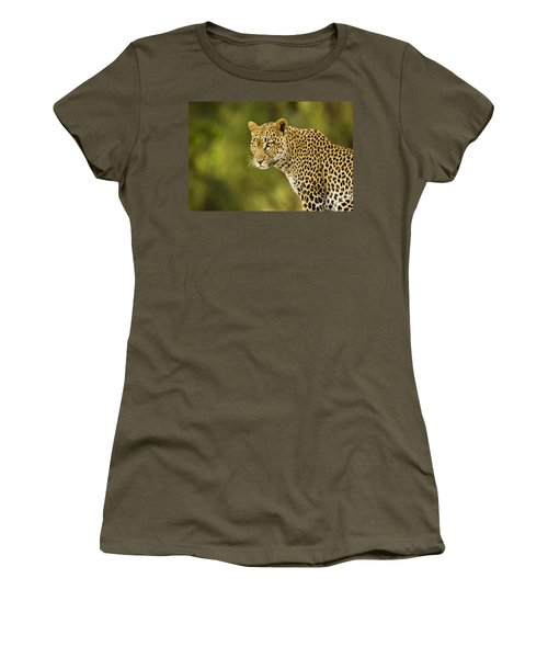Lovely Leopard Women's T-Shirt (Athletic Fit)