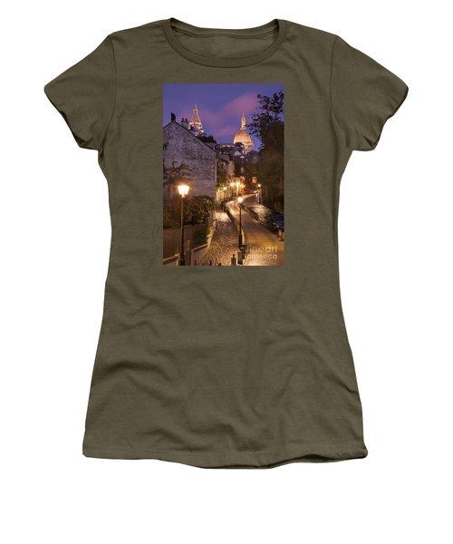 Montmartre Twilight Women's T-Shirt