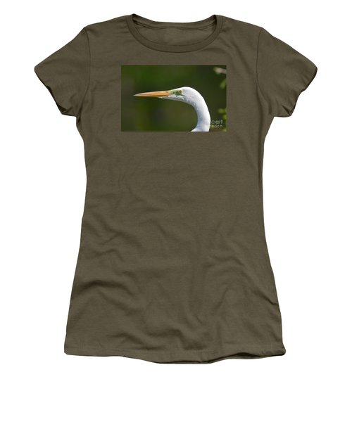 Women's T-Shirt (Junior Cut) featuring the photograph A Beautiful Face by Kathy Baccari