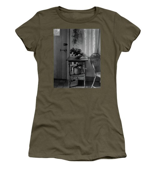 A Bowl Of Vegetables On A Table Women's T-Shirt